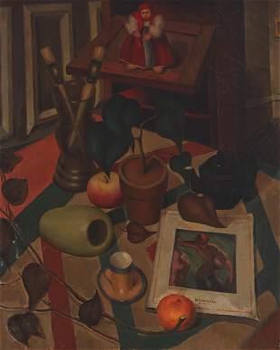 Still life in an interior