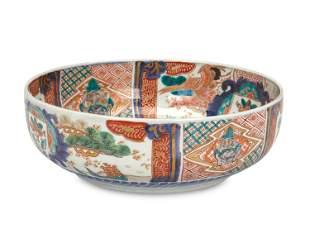 A Chinese Imari porcelain bowl