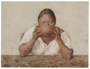 Francisco Zuniga (1912-1998, Mexican)
