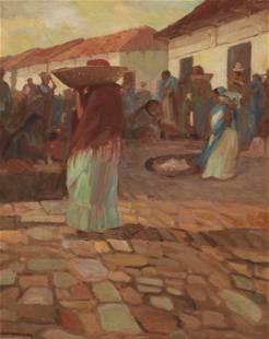Carl Oscar Borg (1879-1947, Santa Barbara, CA)