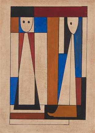 Carlos Merida (1895-1984, Guatemalan)