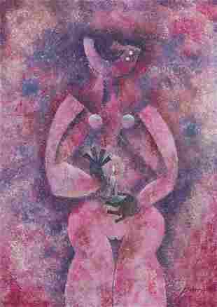 Byron Galvez (1941-2009, Mexican)