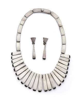 "A set of Antonio Pineda ""Matchstick"" jewelry"