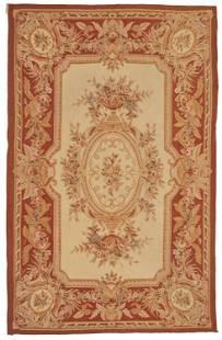 An Aubusson area rug
