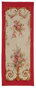 An Aubusson wall tapestry