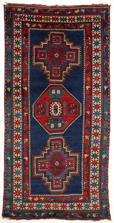 A Kazak Caucasian area rug