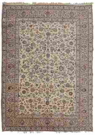 An Isfahan area rug