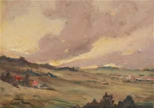 Colin Campbell Cooper, NA (1856-1937, Santa Barbara,
