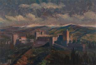 Arthur Merton Hazard (1872-1930, Los Angeles, CA)