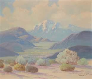 George Bickerstaff (1893-1954, Ukiah, CA)