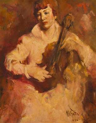 William Frederick Foster ANA (1883-1953, New York, NY)