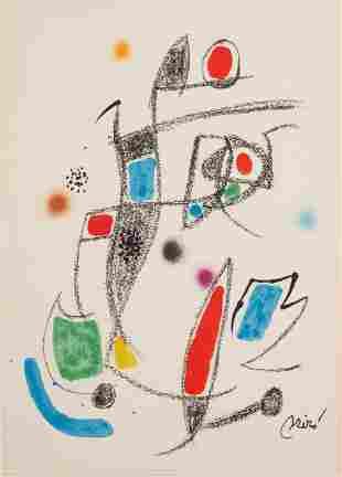 Joan Miro (1893-1983, Spanish)