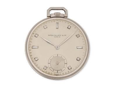 A Patek Philippe & Cie pocket watch