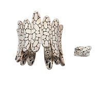 A set of John Hardy silver jewelry
