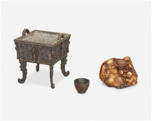 Three Chinese table objects
