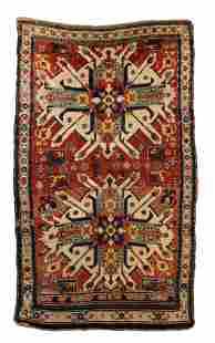 A Kazak Karabagh area rug
