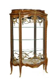 A Francois Linke parquetry vitrine, index number 905