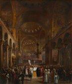 Louis Haghe (1806-1885, Belgian)