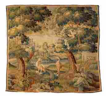 A Continental woven tapestry