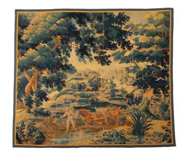 A Belgian woven tapestry