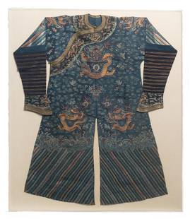 A Chinese Imperial Chi'fu robe