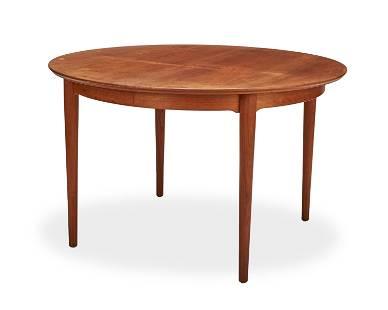A Danish modern teak dining table