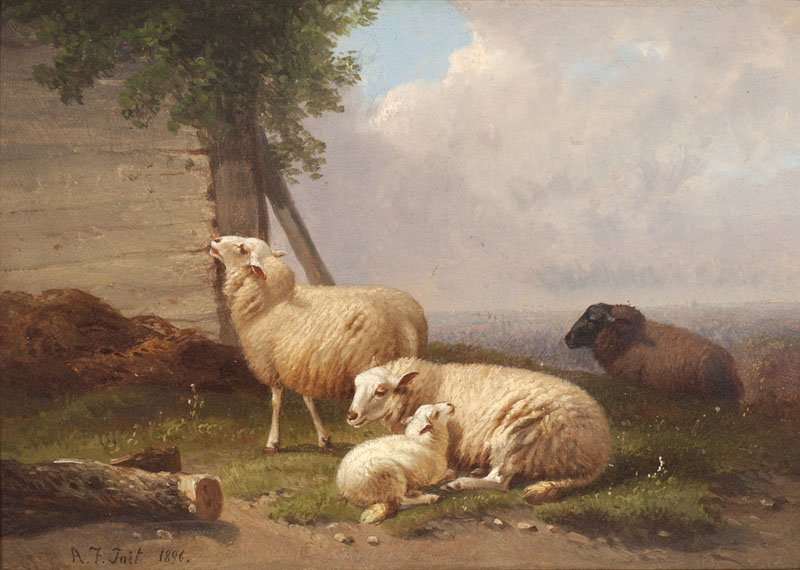 1004: Arthur Fitzwilliam Tait (1819-1905)