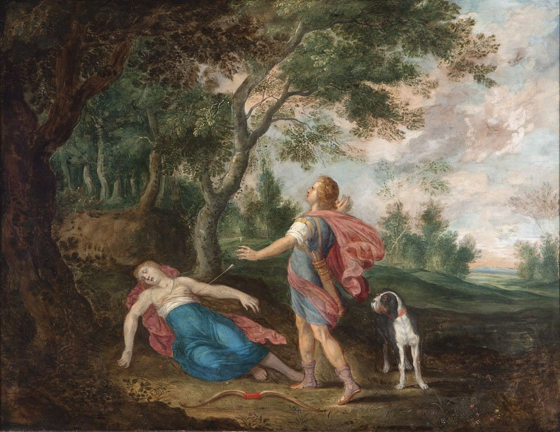 9: Flemish School, Style of Peter Paul Rubens, circa 16