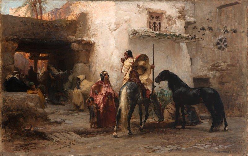 19: Frederic Arthur Bridgman (1847-1928)