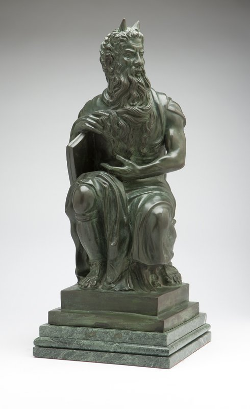 1021: A Continental patinated bronze figure of ''The Se