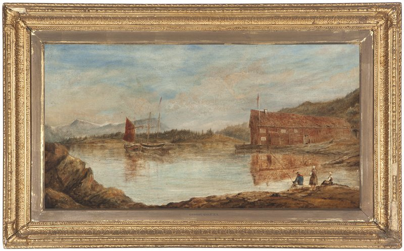 1039: Attributed to George Cole (1810-1883)