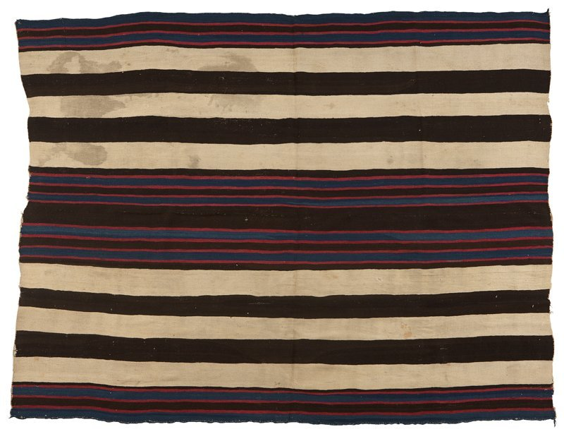 1062: A Navajo Chief's Blanket, First Phase