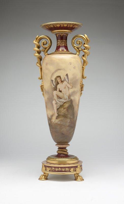 1001: A KPM porcelain vase