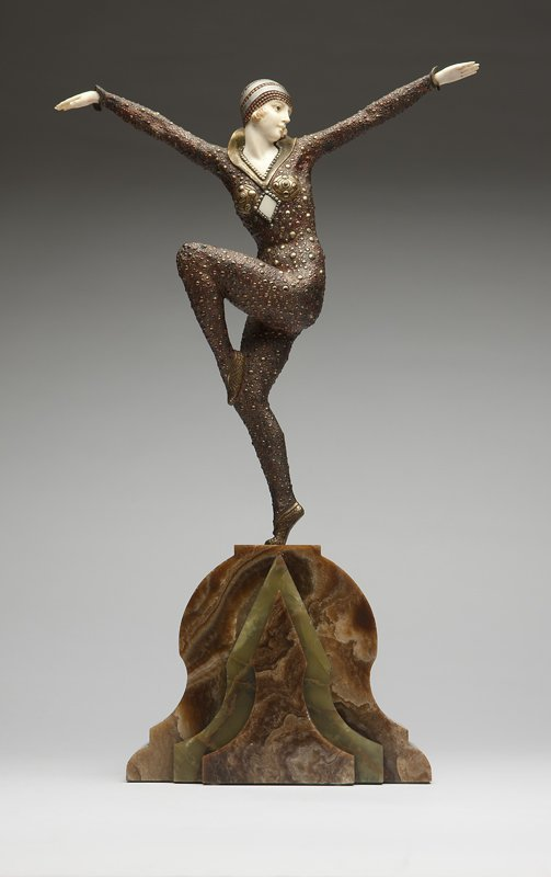 1065: After Demetre Chiparus 'Dancer of Kapurthala'