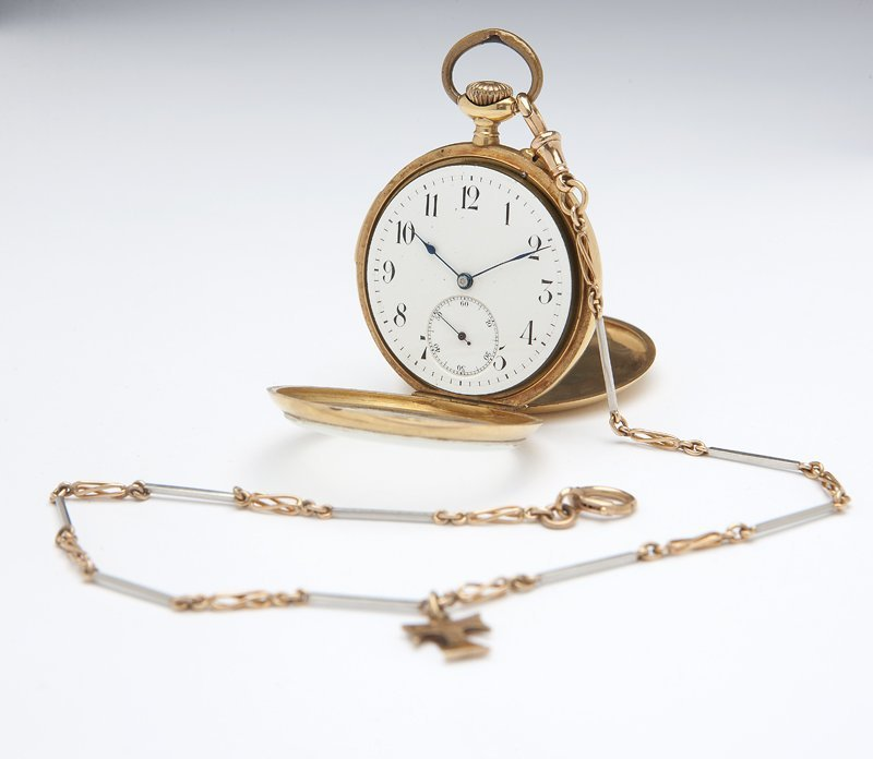 1110: A repeater pocket watch, S. Silverthau and Sons