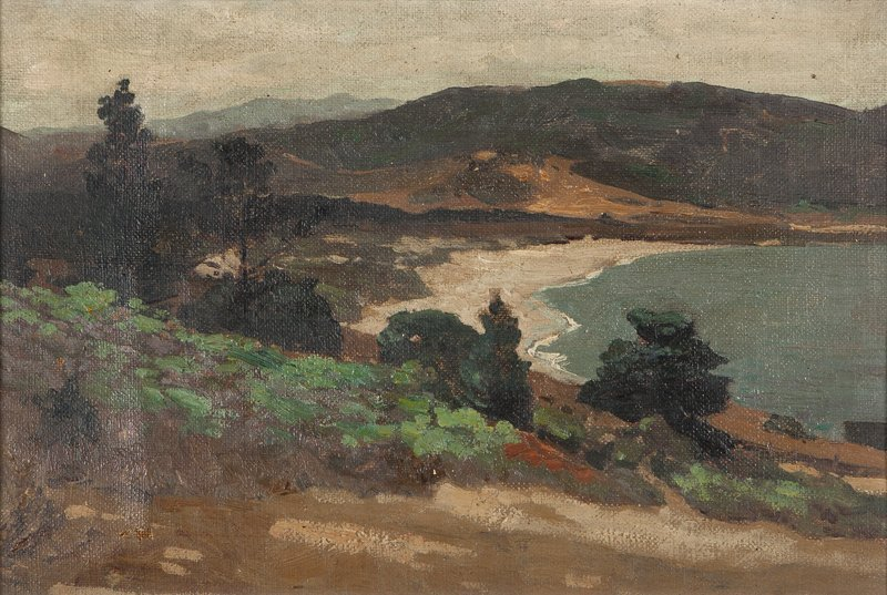 1020: William  Ritschel  (1864-1949 Carmel, CA)