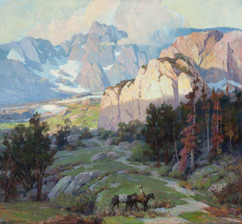 1060: Jack  Wilkinson Smith  (1873-1949 Alhambra, CA)