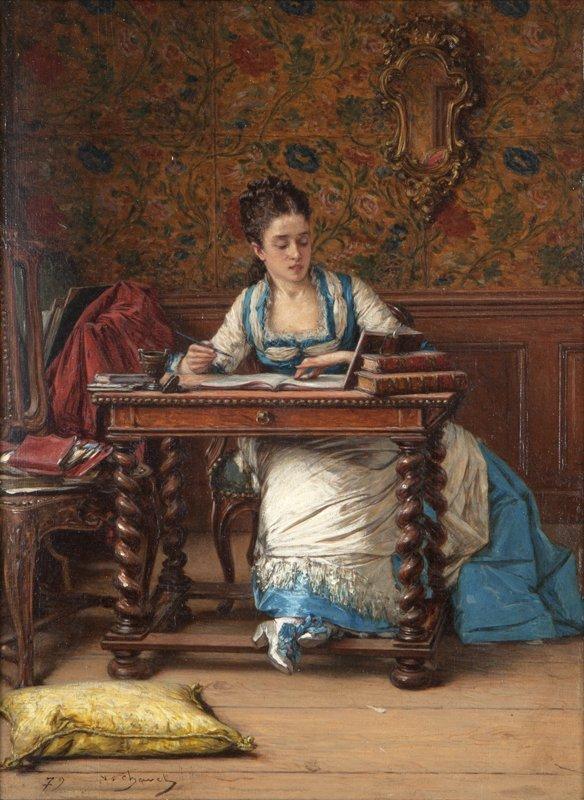3: Victor Joseph Chavet (1822-1906 French)