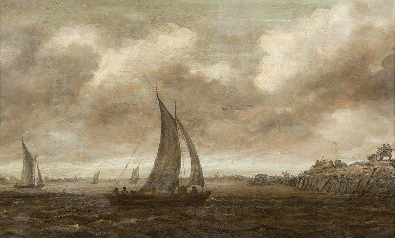 9: Jan Van Goyen (1596-1656 Dutch)