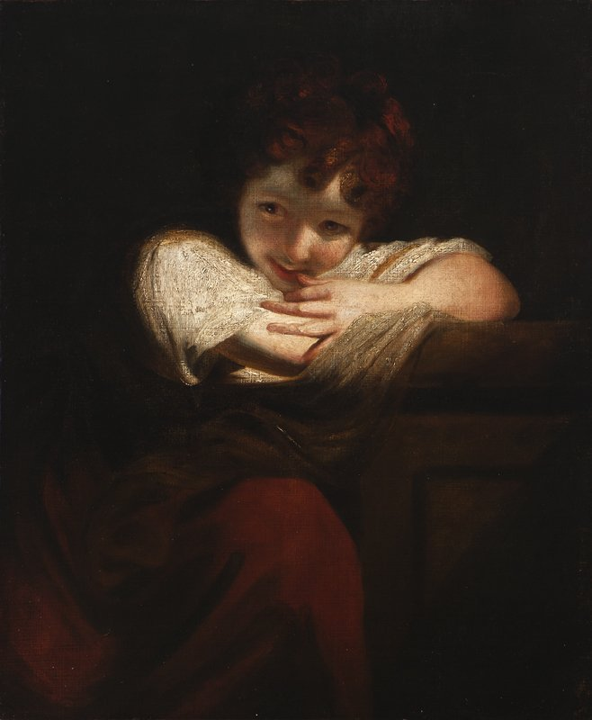 10: After Sir Joshua Reynolds P.R.A. (1723-1792 Britis