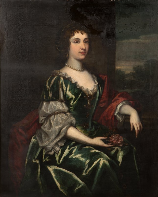 11: Attributed to Sir Peter Lely (1618-1680 British)