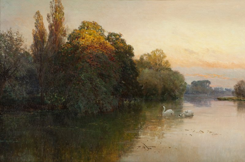 18: Alfred De Breanski, Sr. (1852-1928 British)