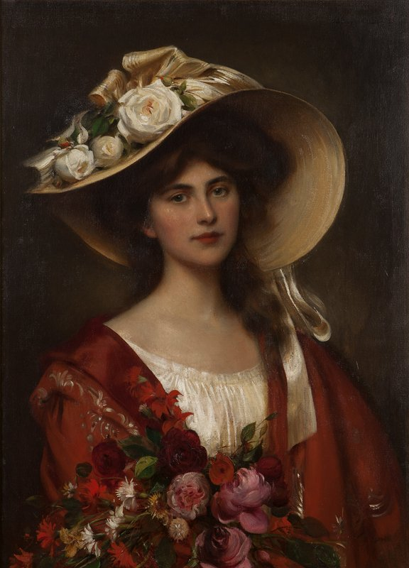 23: Albert Lynch (1851-1900 Peruvian)