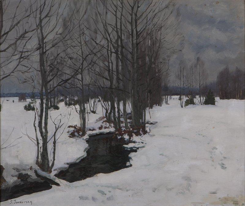 44: Stanislav Julianovic Zhukovsky (1873-1944 Polish)