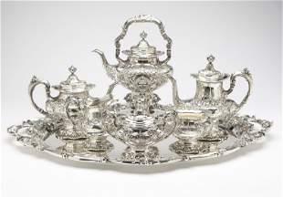 1176: A Reed & Barton 'Francis I' sterling tea service