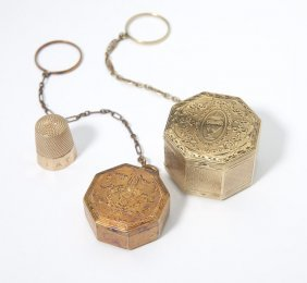 Two Ring Compacts And A Thimble
