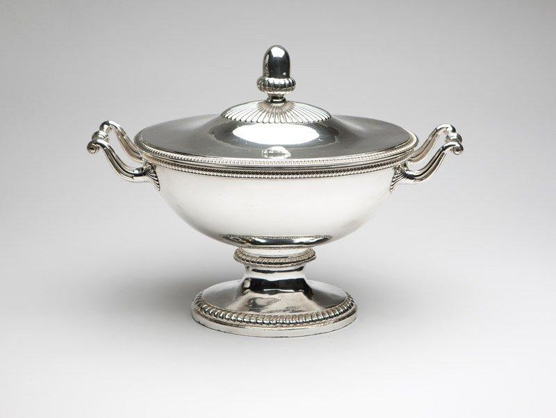 A Louis Philippe silver-plate tureen, C. Balaine