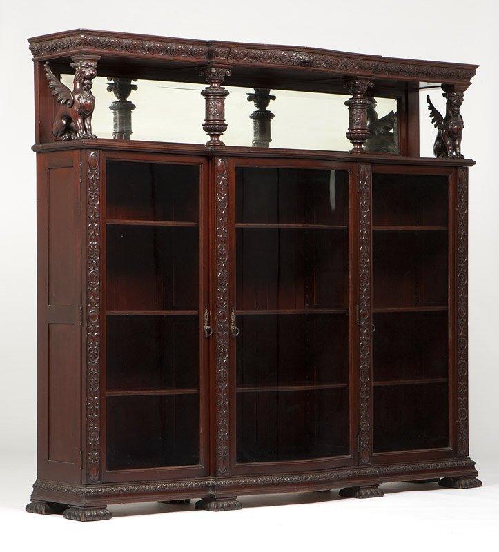 A Renaissance Revival bookcase attrib. Horner