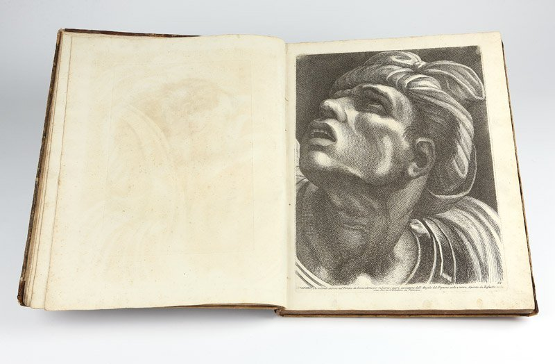 Paolo Fidanza, a bound collection of engravings