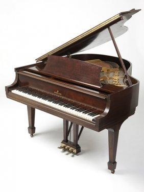 A Steinway & Sons Model S Baby Grand Piano